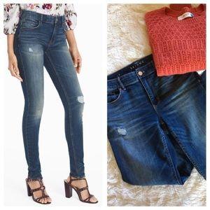 Denim - white house black market • skinny high rise jeans